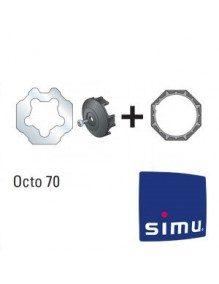 Bagues Octo 70 Simu T6 - Dmi6