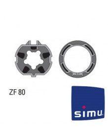 Bagues ZF 80 Simu T6 - Dmi6