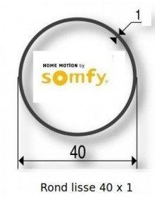 Somfy 9500400 - Bagues Rond lisse 40x1 moteur Somfy LS40