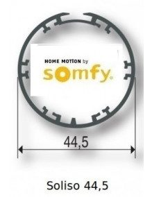 Somfy 9013973 - Bagues Soliso 44.5 moteur Somfy LS40
