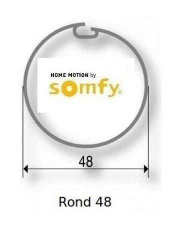 Somfy 9500335 - Bagues Rond 48 moteur Somfy Ls40