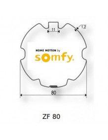 Bagues ZF80 moteur Somfy LT60 - LT60 CSI