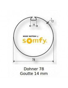 Somfy 9420327 - Bagues Donher 78 goutte 14 moteur Somfy LT60 - LT60 CSI