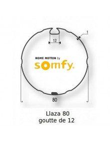 Somfy 9420329 - Bagues Llaza 80 goutte 12 moteur Somfy LT60 - LT60 CSI