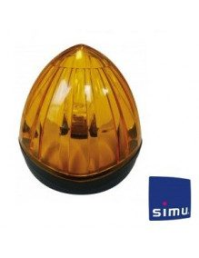 Simu 9019453 - Feu de signalisation Simu orange