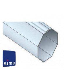Simu 9001481 - Bagues Octogonales 40 Imbac moteur Simu T3.5