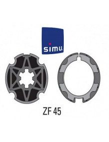 Bagues ZF 45 moteur Simu T3.5