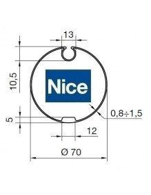 Nice 515.17100 - Bagues Ogive 70 petite goutte moteur Nice Era M et MH