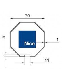 Nice 516.07000 - Bagues Octo 70 moteur Nice Era L