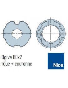 Bagues Ogive 80 moteur Nice Era M et MH