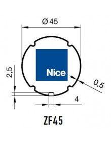 Nice 503.24500 - Bagues ZF 45 moteur Nice Era S