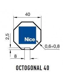 Nice 503.04000 - Bagues Octogonal 40 moteur Nice Era S