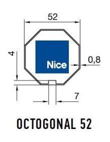 Nice 515.05200 - Bagues Octogonal 52 moteur Nice Era M et MH