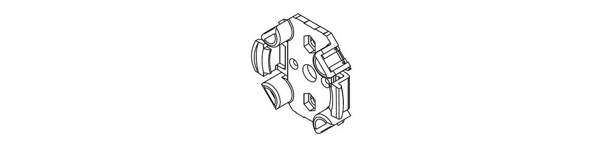 Support moteur Cherubini